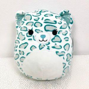 "Squishmallows Toni Aqua Cheetah 8"" New"